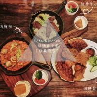 [ 食記 台北 ] 信義 / 捷運象山站|Nola Kitchen 紐澳良小廚(信義總店).楓糖鬆餅配炸雞最對味