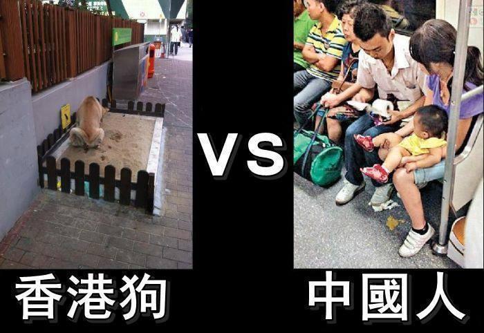 基隆市 台北 香港vs中國